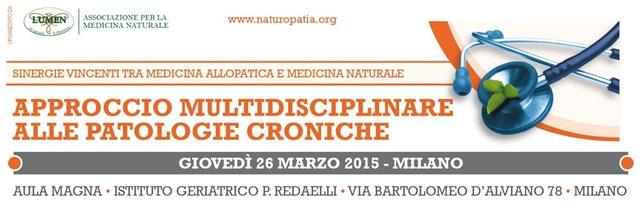 Convegno Approccio multidisciplinare alle patologie croniche - LUMEN