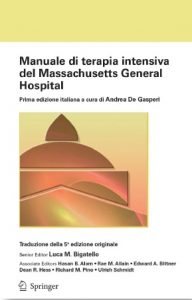 Manuale di terapia intensiva del Massachusetts General Hospital