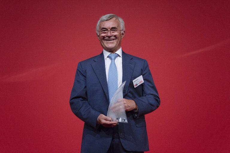 """Rino Rappuoli premiato come Inventore dell'anno a Venezia Vince l'edizione 2017 di European Inventor Award nella categoria """"Lifetime Achievement"""""""