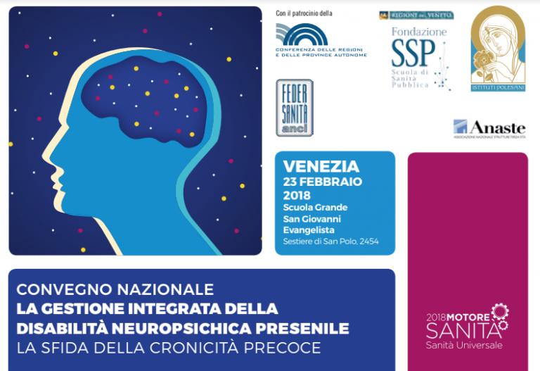 La gestione integrata della disabilità neuropsichica presenile.  La sfida della cronicità precoce