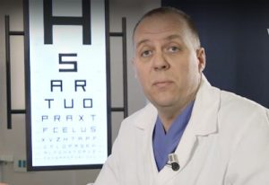 Intervento di retina artificiale e dimissione in 24h