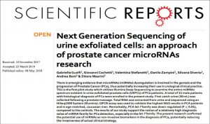 Sequenziamento di nuova generazione sulle urine di pazienti con tumore della prostata: un ulteriore passo verso la biopsia liquida?