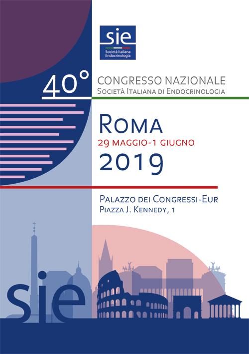 40° Congresso Nazionale SIE della Società Italiana di Endocrinologia