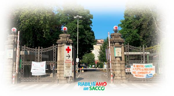 """Raccolta fondi per la Riabilitazione dell'Ospedale """"Luigi Sacco"""": primo obiettivo raggiunto"""