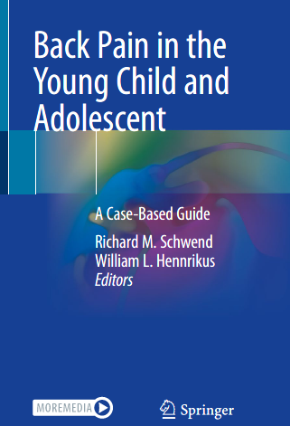 Back pain in the young child and adolescent– nuovo libro Springer Nature