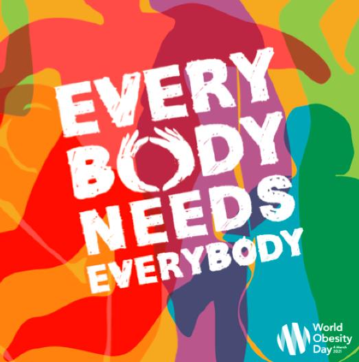 4 marzo 2021 World Obesity Day - Concorso di Medicina Narrativa: partecipa anche tu!